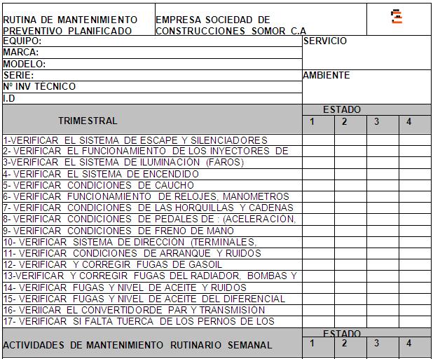 Lujo Hoja De Mantenimiento Temporal Adorno - hojas de trabajo ...