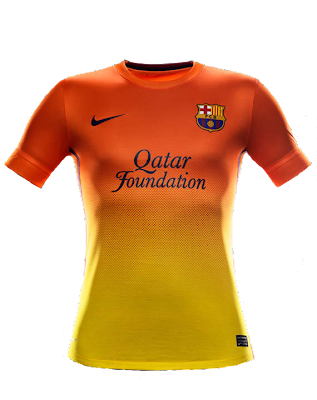 away kit Barcelona 2012/2013