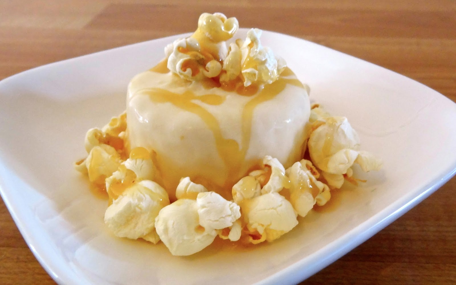 ... and Ramblings: Popcorn Ice Cream with Salted Butter Caramel Sauce