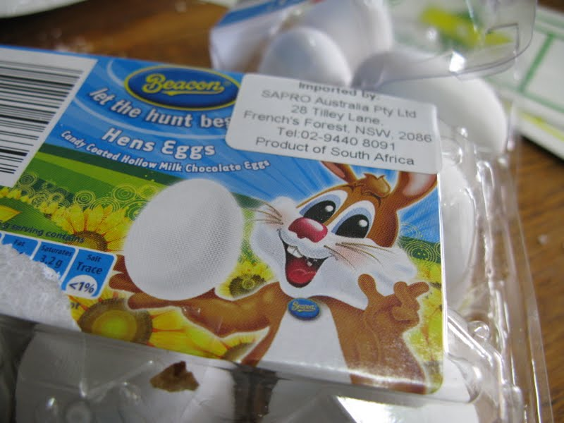 Cooking 4 an army big family cooking is like cooking for an of course a round biscuit to work on silver balls cup cake papers for the finished product and a little imagination all ready as easter gifts enjoy negle Images