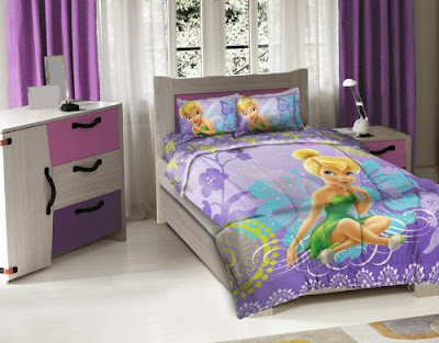bedroom decor ideas and designs top tinkerbell themed bedding sets
