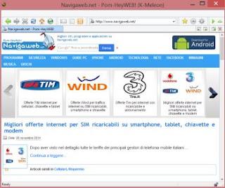 kmeleon veloce browser