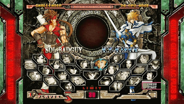 Guilty Gear: XX Accent Core Plus R [RELOADED] Screenshot 1
