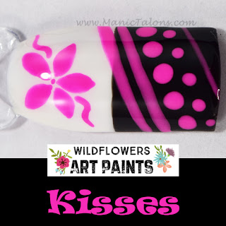 Wildflowers Nail Art Paint Kisses