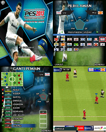 Download PES 2013 Asia Edition (Java) - All Game Storie's