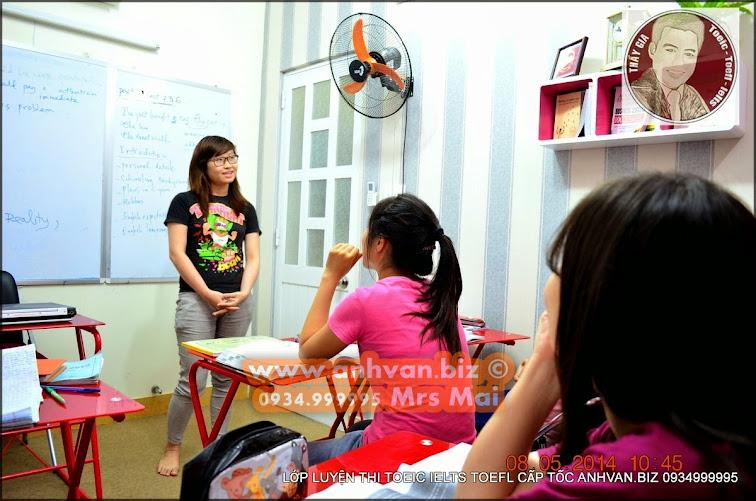 Học Nói IELTS TOEIC TOEFL Tại anhvan.biz