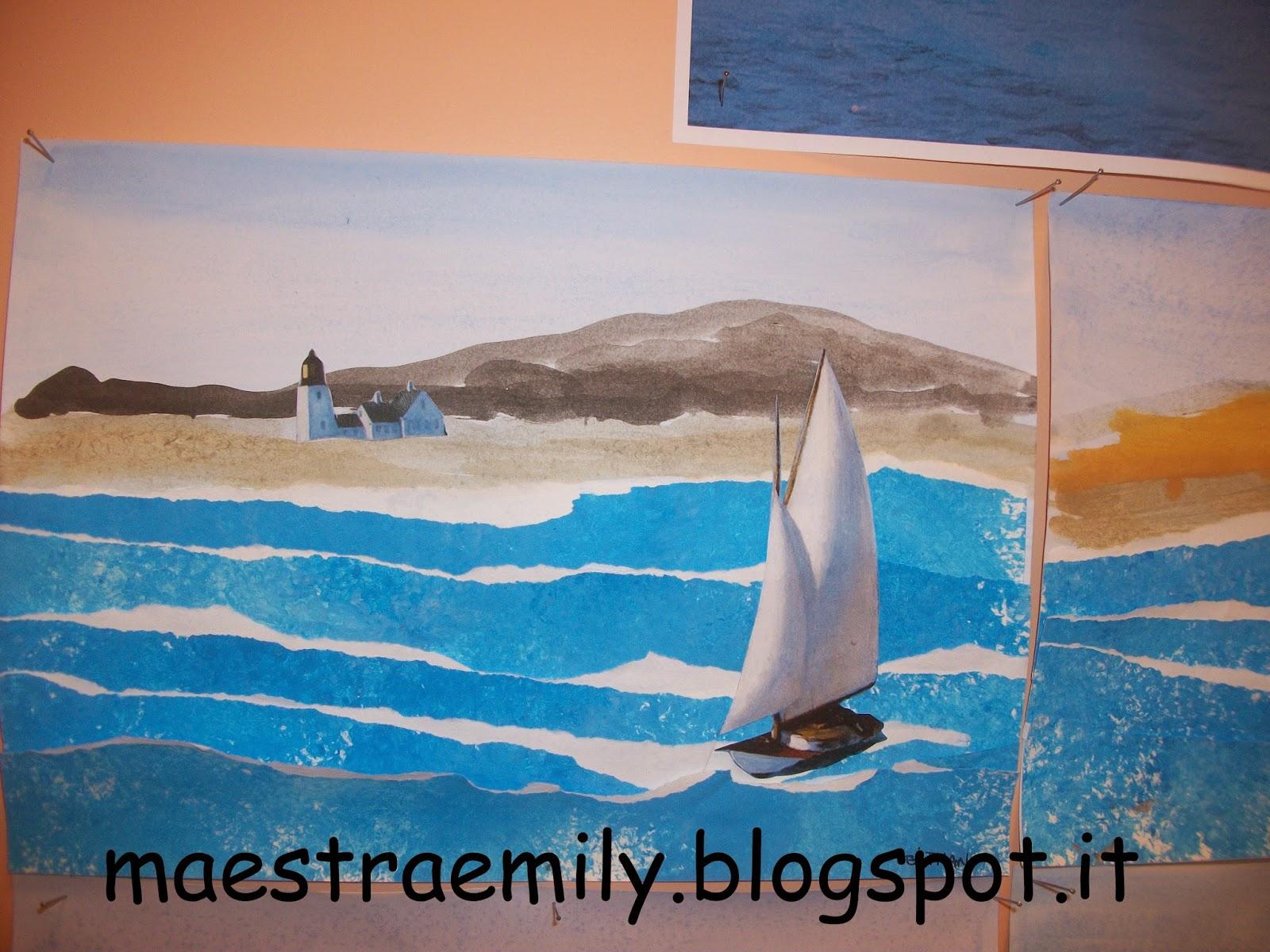 Maestraemily al mare con hopper for Hopper finestra sul mare