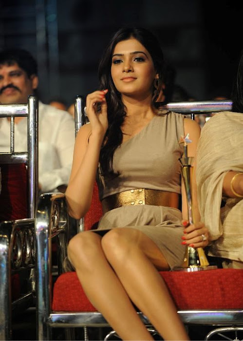 samantha at lux sandal cinemaa awards photo gallery