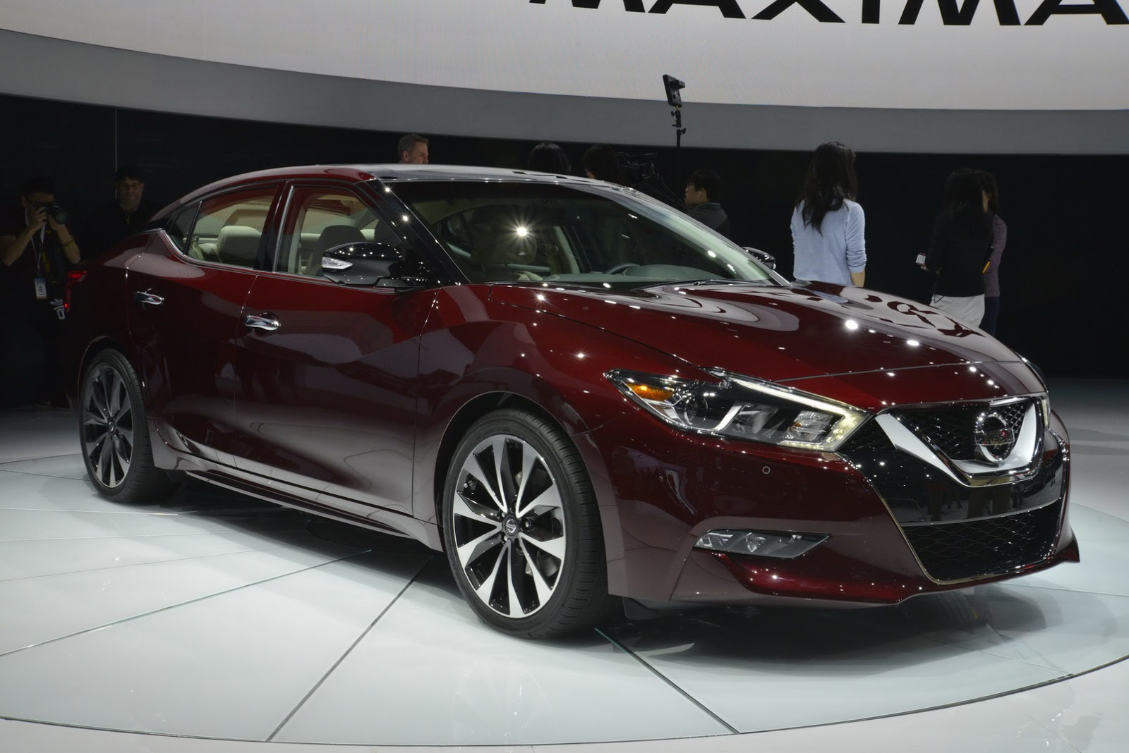 Nissan's Stunning All-New 2016 Maxima Revealed in New York [77 Pics]