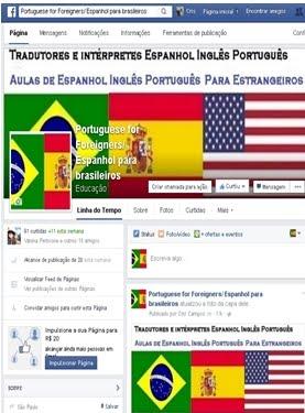 FACEBOOK Portuguese-for-Foreigners-Espanhol-para-brasileiros