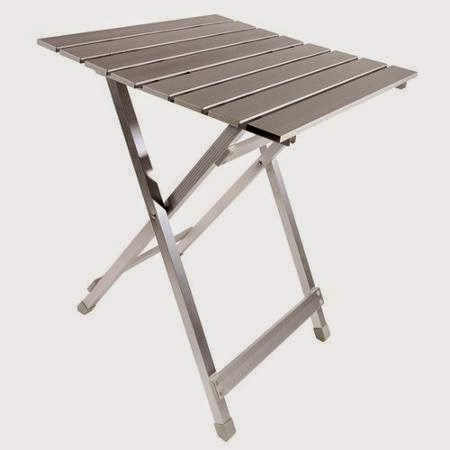 Tiny yellow teardrop five best folding tables for teardrop trailers - Rv side tables ...