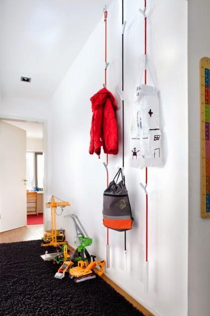 5 percheros originales para decorar tu hogar - Percheros de pared originales ...