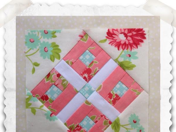 Chatelaine- Free BOW Sampler Quilt Block 48