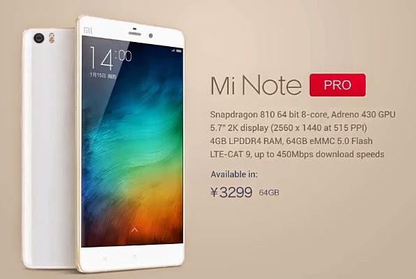 Xiaomi Mi Note Pro, Xiaomi Mi Note Pro Philippines