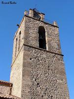 El campanar de l'església de Sant Esteve de Baga. Autor: Ricard Badia