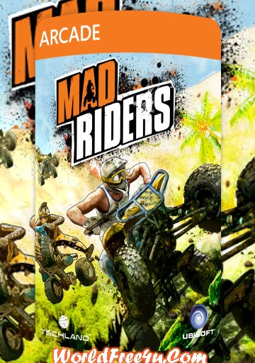 Cover Of Mad Riders Full Latest Version PC Game Free Download Mediafire Links At Downloadingzoo.Com