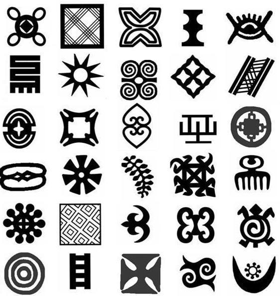 Sylvia Lande Notes Adinkra Symbols From Africa