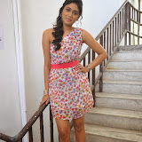 Manisha Yadav Photos in Floral Short Dress at Preminchali Movie Press Meet 46