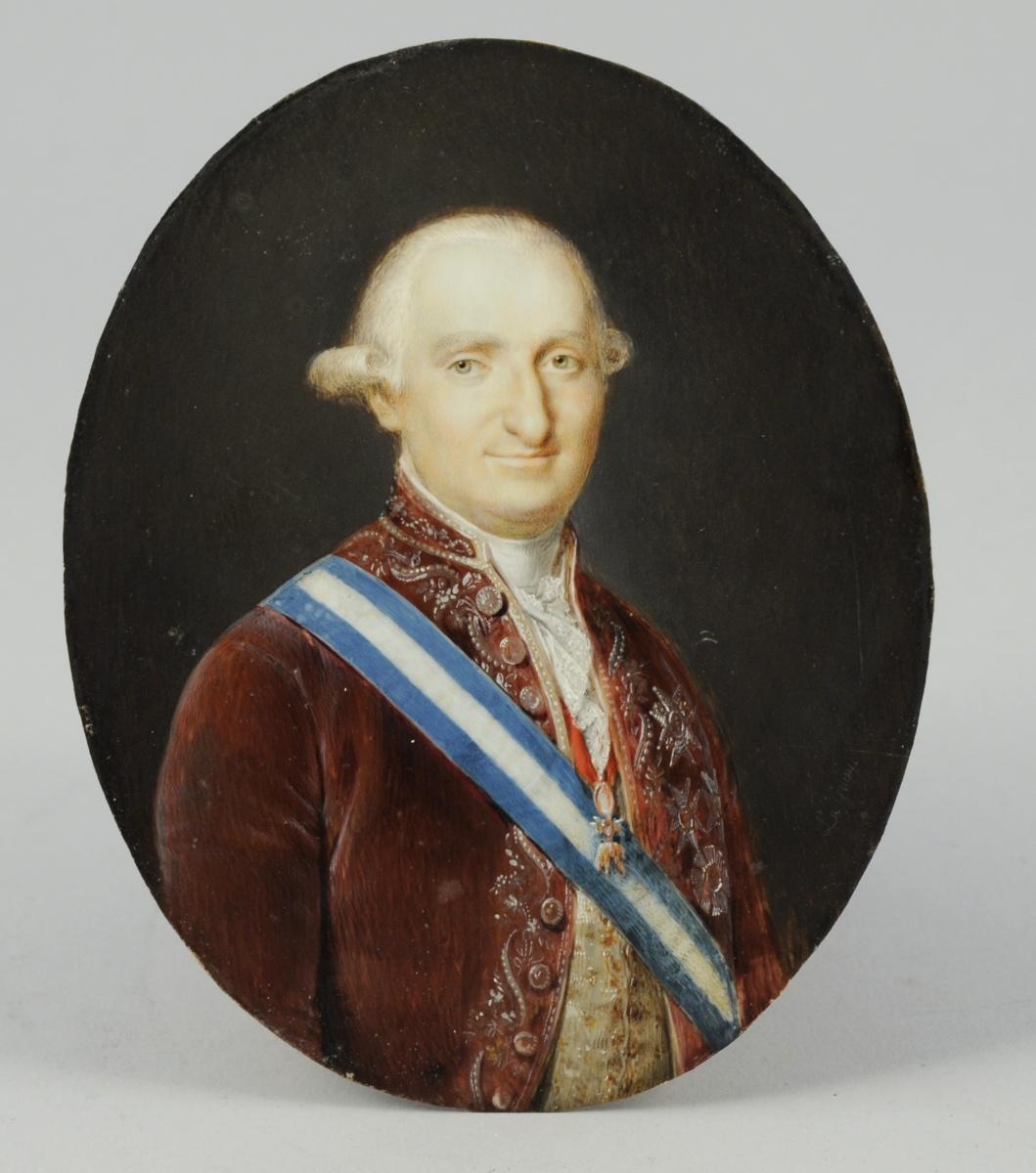 International Portrait Gallery: Miniatura del Rey Carlos IV de España