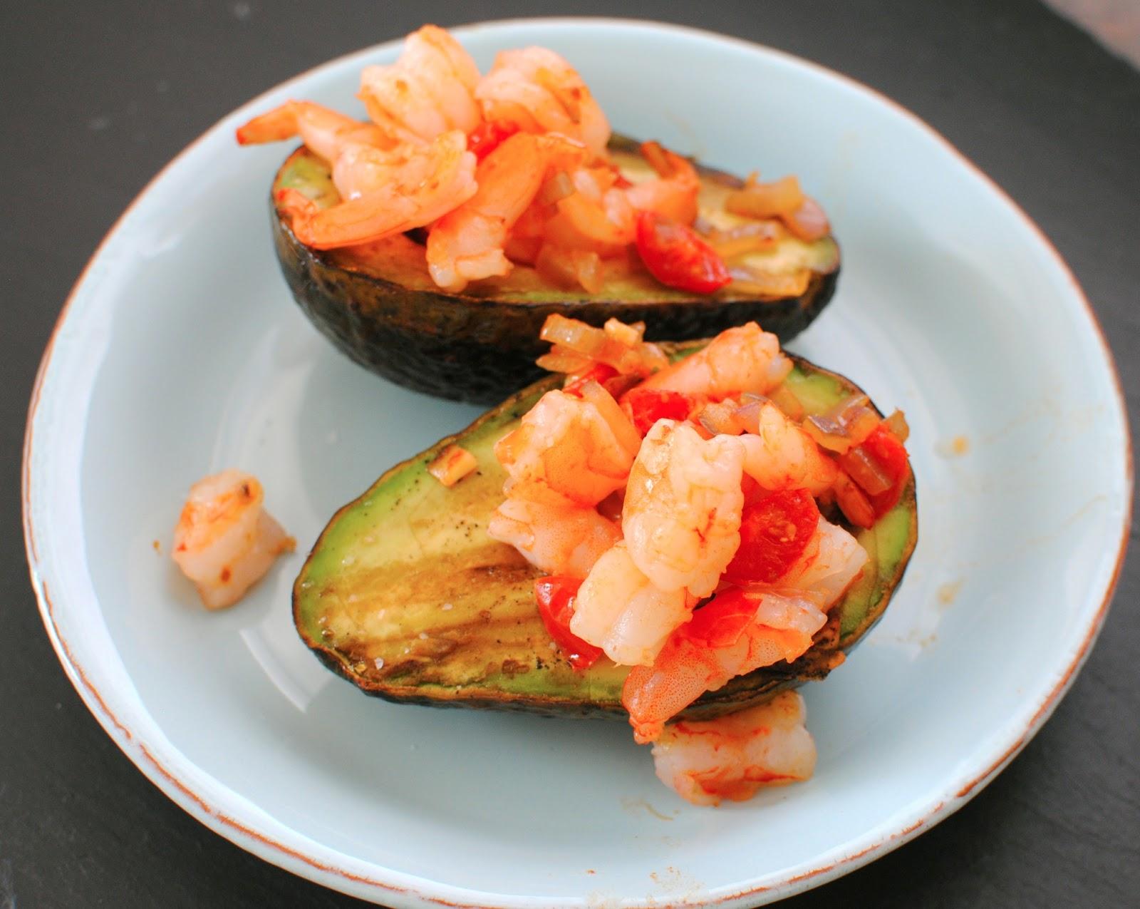 Shrimp Stuffed Avocados   Sparkle & Stir