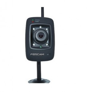 Buy Foscam FI8909W-NA Wireless/Wired IP/Network Camera with 7 Meter Night Vision and 3.6mm Lens Rs. 2999 only