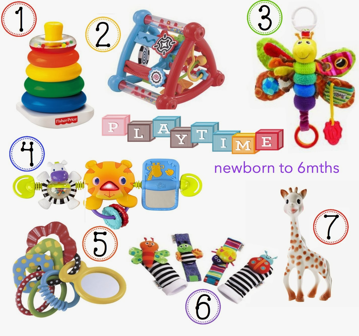 The Classic toys that every kid should have in their toy box! for Newborns – 6months {part 1} | V. I. BUSY BEES