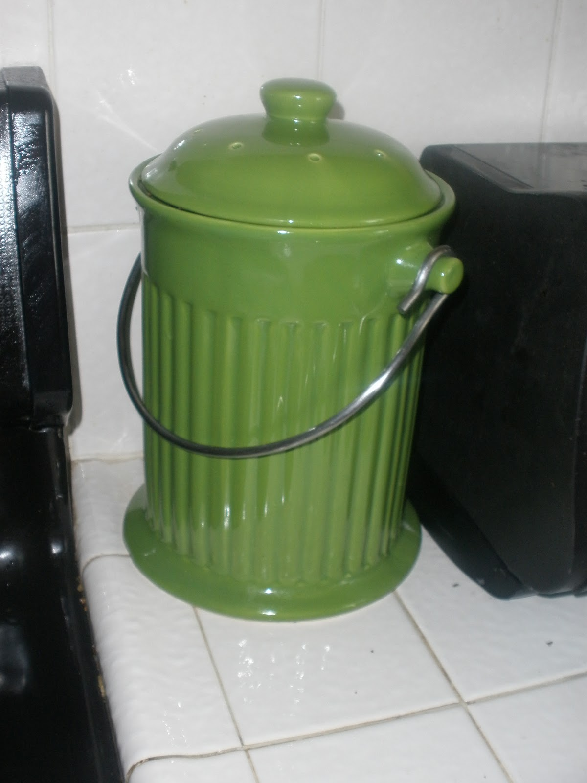 Countertop Compost Bin : ... 10 in rewards cash, I picked out this adorable countertop compost bin
