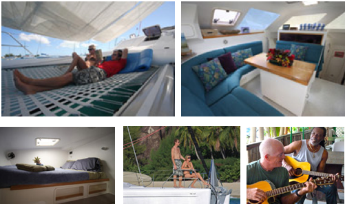 The yacht is fully air conditioned and accommodates up to 6 guests in 3 ...