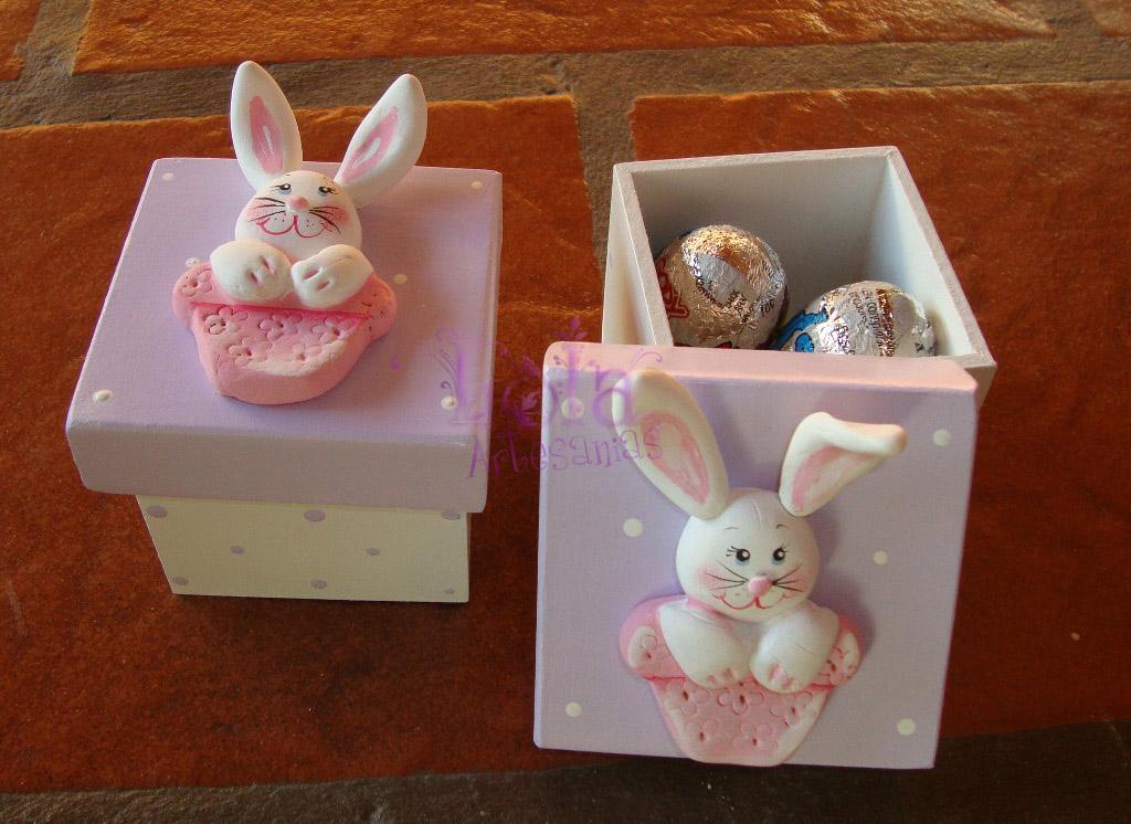 Como hacer conejitos en porcelana fria - Imagui