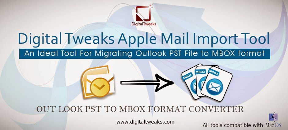 outlook pst to apple mail