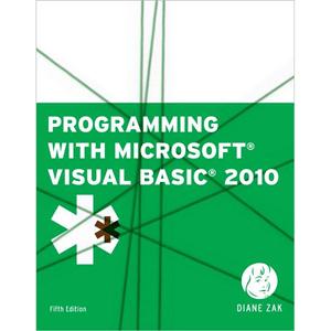Visual basic 2010 chapter 4 critical thinking answers