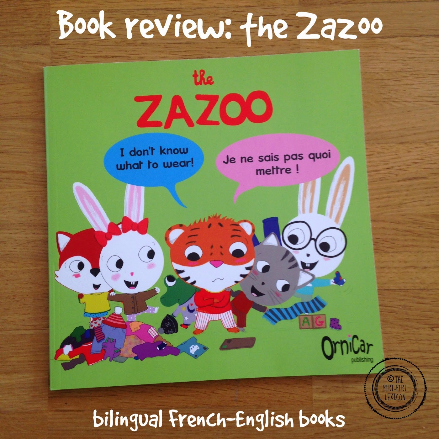 Book Review The Zazoo French English Bilingual Series The