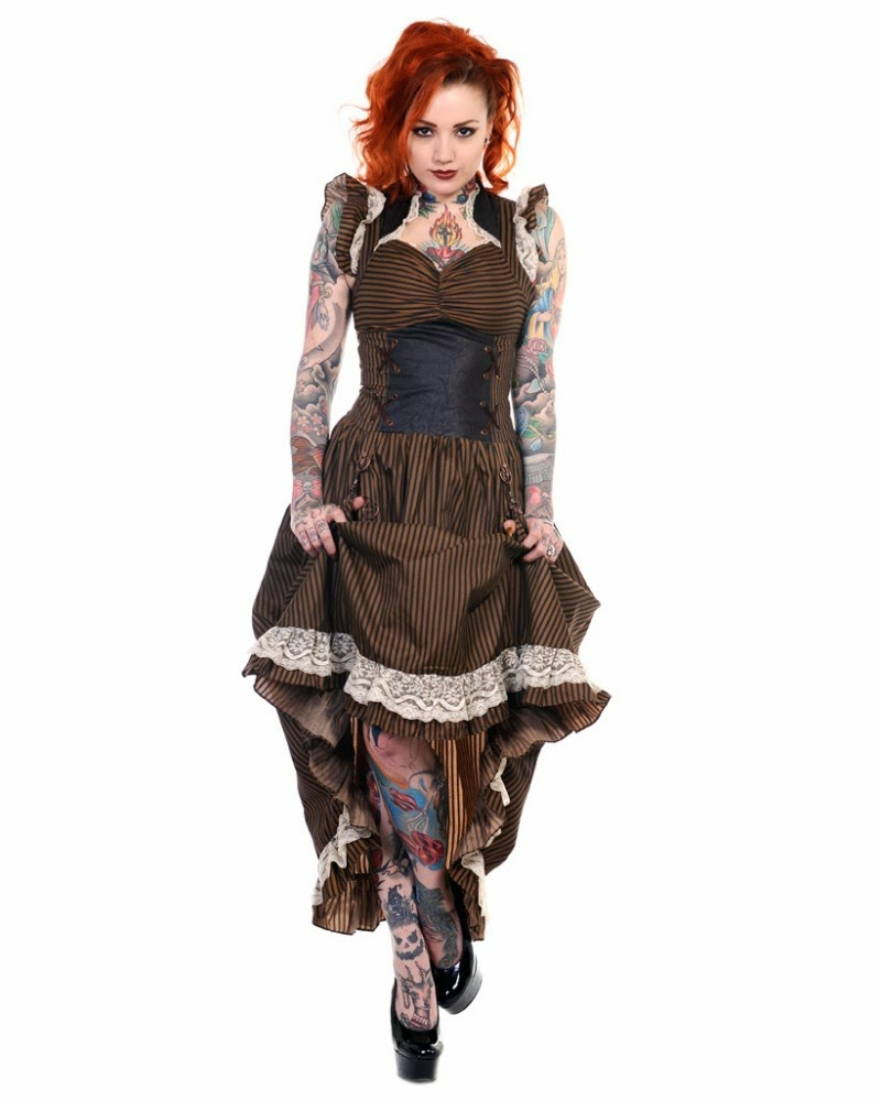 Colección de vestidos góticos de moda