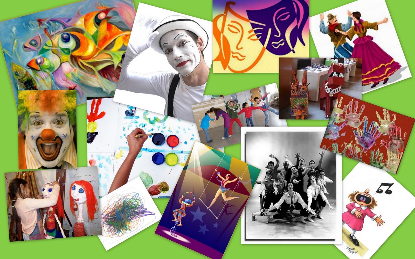 Aprendizaje de los Niños atravez del arte