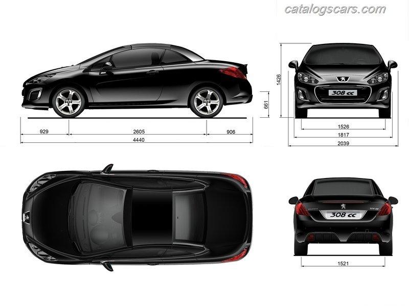 سيارة 308 2012