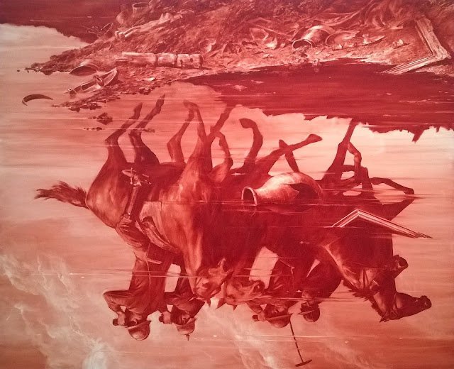 Mark Tansey at The Broad Museum Los Angeles