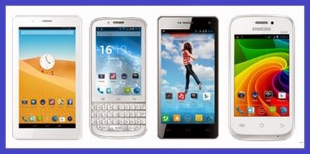 Harga HP Evercoss dan Tablet baru 2014