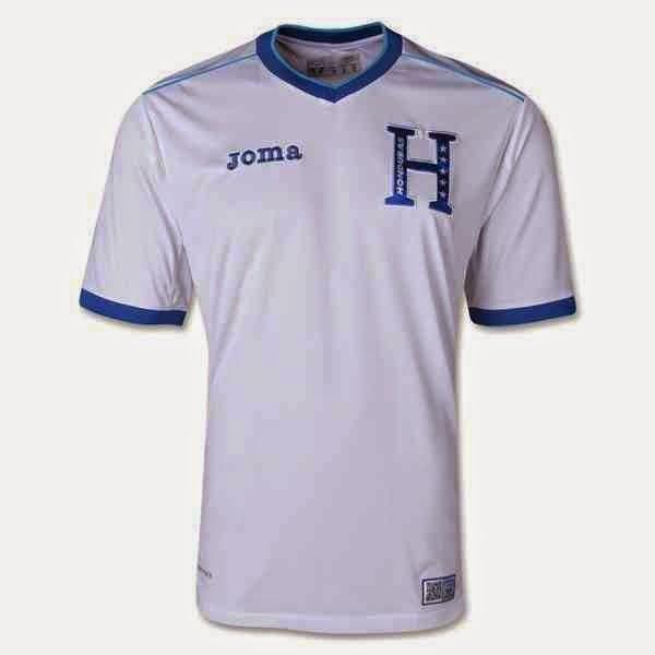 Kostum Timnas Honduras Piala Dunia 2014