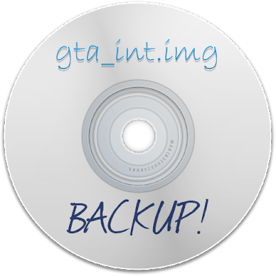 GTA SA - Backup do arquivo gta_int.img ORIGINAL