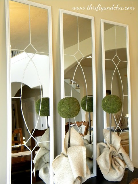 Our Love Nest Project Pinterest Wannabe Garden District Mirrors