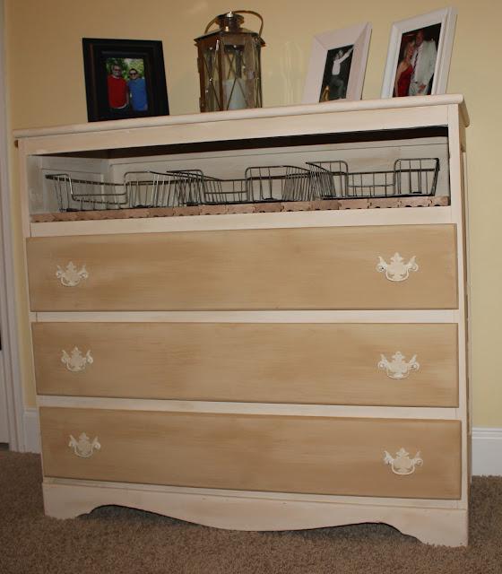 Dresser Makeover {rainonatinroof.com} #makeover #dresser