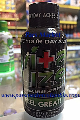 Vitalize Kratom Shot at Pars Market Columbia Maryland