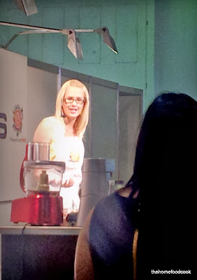 thehomefoodcook - masterchef live 2012 - julia making vegemite macarons