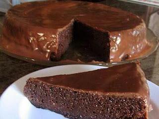 "<img alt="" Gâteau de chocolat sans farine."""