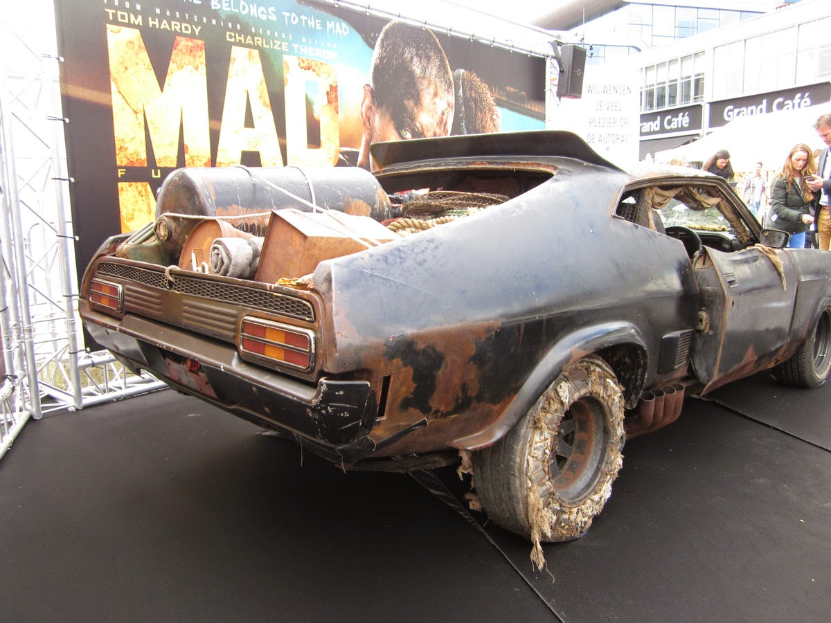 futuro finale 2088ad mad max fury road at autorai 2015. Black Bedroom Furniture Sets. Home Design Ideas