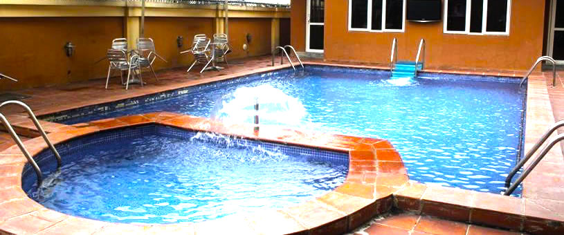 Manyxville Hotel Lekki swimming pool