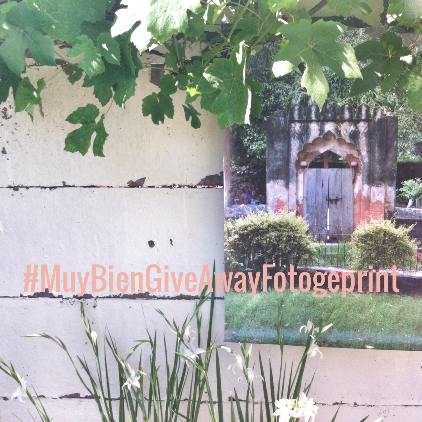 ¡Give Away: Tuinposter van Fotogeprint!