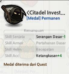 Lost Saga Medal Crusade Lantai 20