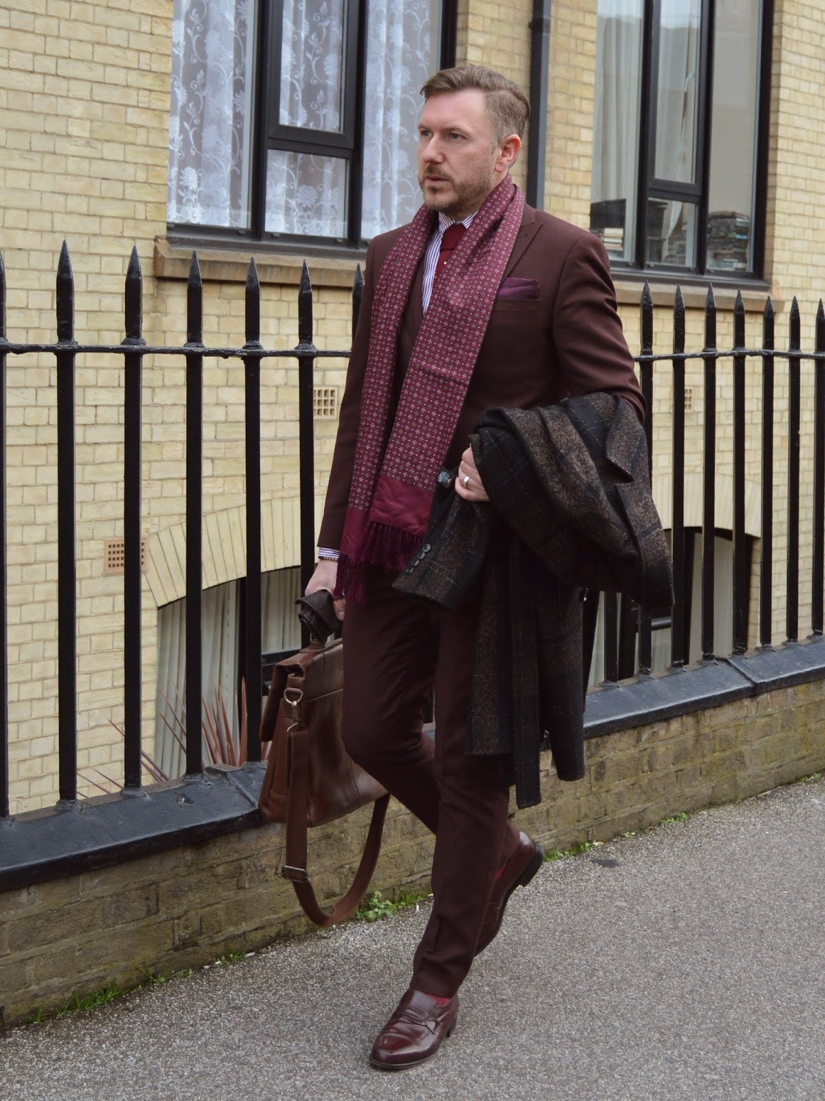 What I Wore - The Next Skinny Fit Suit | That Dapper Chap
