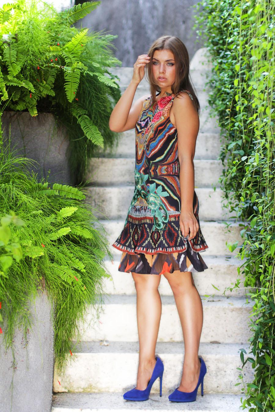 desigual campaign shooting fashion social media fashion blog
